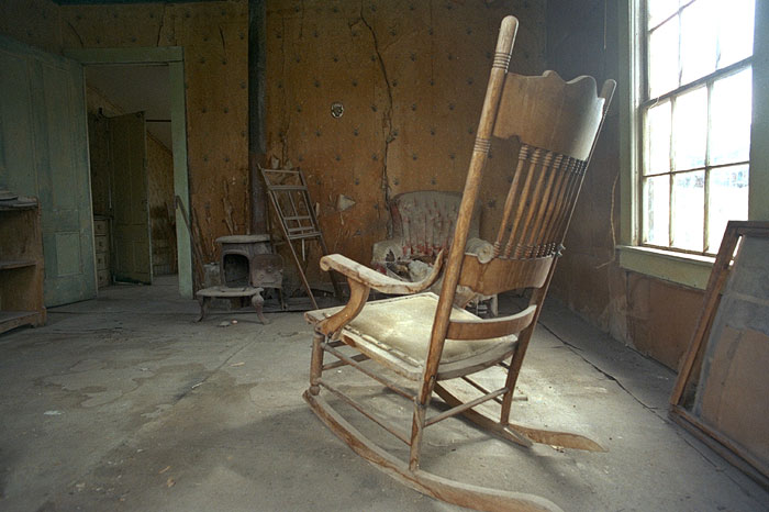 Scary Rocking Chair ~ Bodie ghost town california