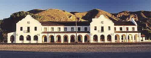 Caliente Nevada Railroad Town Historic Site Picture