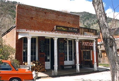 Genoa Nevada Historic Town Genoa Oldest Saloon In
