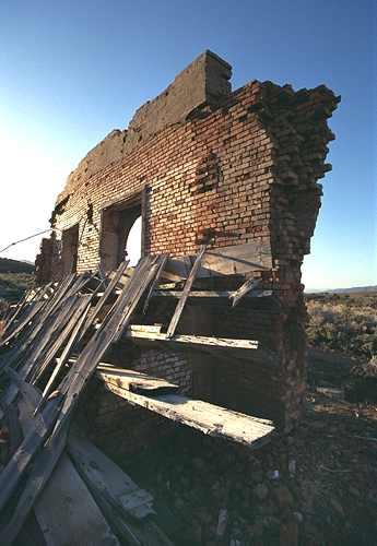 Hamilton Nevada Ghost Town Historic Site Picture Gallery