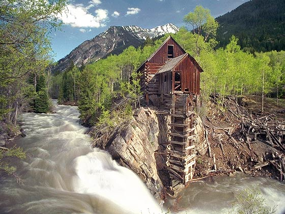 Crystal Mill Colorado Ghost Town Picture Gallery