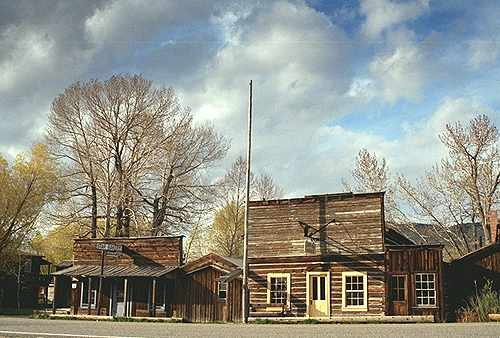 Nevada City Montana Historic Town Picture Gallery