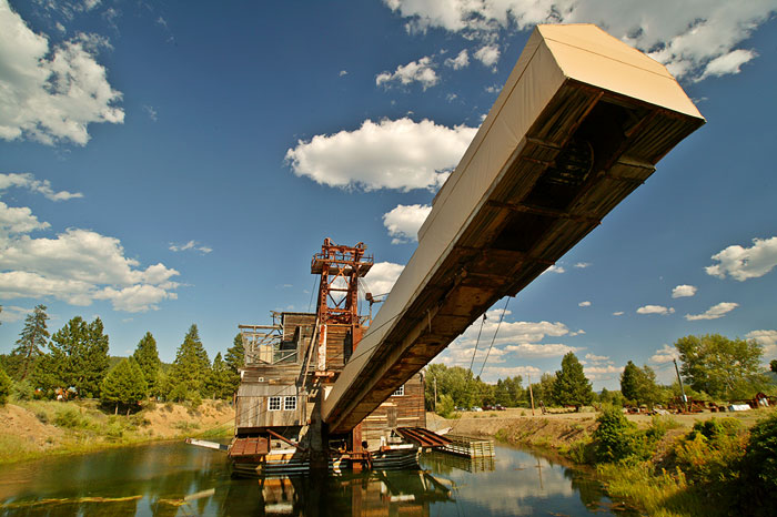 Sumpter Dredge, Oregon